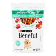 Alimento Pouch Adul Minis y Peque Cordero 100 gr